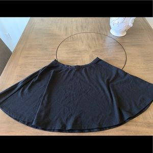 Size 8 Lauren Conrad black circle skirt